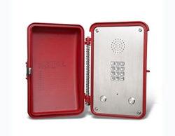 Vandal proof outdoor speakerphone