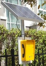 Solar Powered Water proof telephones
